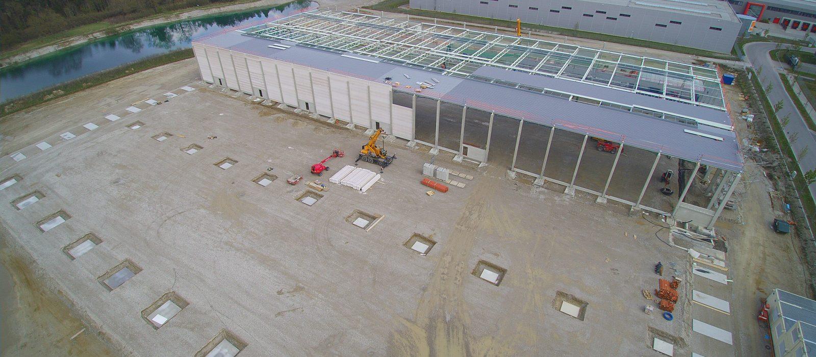Multipark IV, Neubau 3 Hallen
