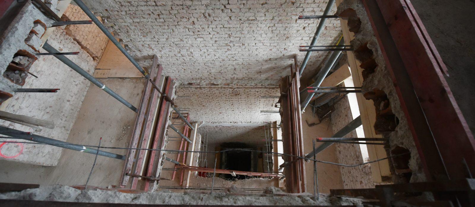 Umbau Triebwerk Neuaubing